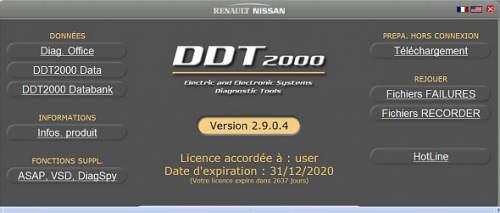 DDT2000 RENAULT TÉLÉCHARGER