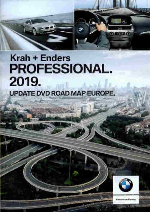 Carte Routiere Europe 2019.Bmw Navigation Dvd Carte Routiere Professional Europe 2019