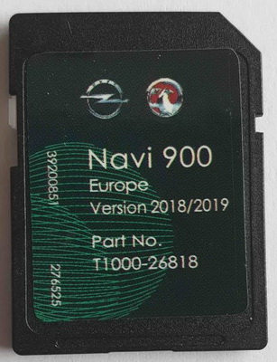Opel Chevrolet Vauxhall Navi 600 - 900 Navi Europe 2019