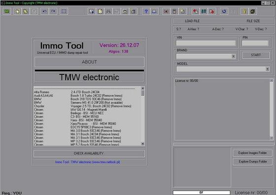 Immotool 2007 - Automobile Hacking la frégate des pirates